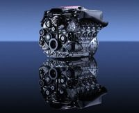 The SLR's eight-cylinder engine was developed by Mercedes-AMG.