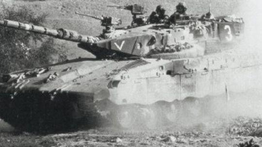 Merkava Main Battle Tank