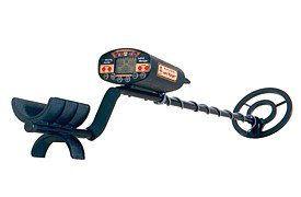 This LandRanger metal detector from Bounty Hunter uses VLF.