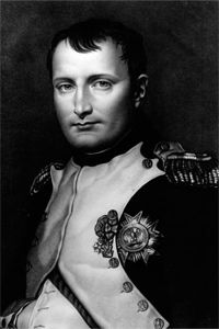 Good, old Napoleon, the general famed for spreading war and the metric system wherever his little feet marched.