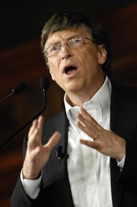 Microsoft founder Bill Gates has been a big supporter of microformats, saying they're needed for future innovation.