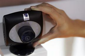 The 3DV Systems motion-sensitive ZCam camera was on display at CES 2008, before the company was acquired by Microsoft. The device was likely a predecessor of Project Natal and Kinect.