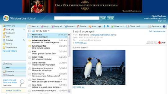 How Windows Live E-mail Works