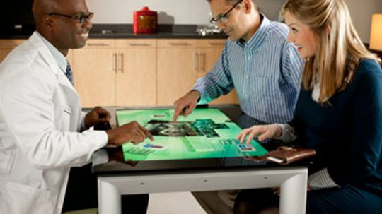 How Microsoft Surface Tabletop Works