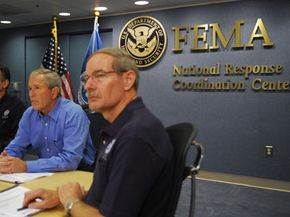 Federal agencies like the Federal Emergency Management Agency (FEMA) represent the point where the government touches the lives citizens. How these agencies are managed is left to the discretion of the president.