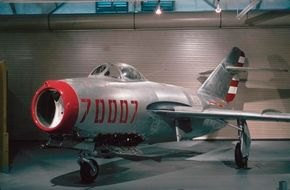 The Mikoyan-Guryevich MiG-15 was a literal bolt from the blue, giving American fliers in Korea more than a little hell. Working in the Americans' favor was the 15's graceless, even dangerous, handing during exceptionally quick maneuvers.