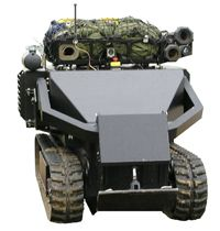 The bulldozer-size ACER can handle tasks like clearing explosives and hauling cargo.