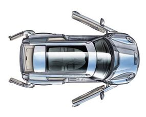 A concept drawing of the MINI Cooper Clubman