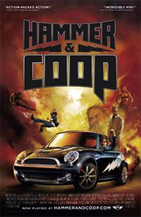 """The """"Hammer & Coop"""" Web-based series follows the exploits of Hammer, played by Bryan Callen, and Coop, an intelligent, talking 2007 MINI Cooper."""