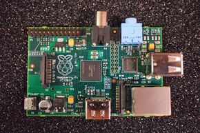 The Raspberry Pi computer has everything you need for basic computing crammed onto a single circuit board.