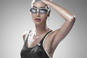 The fitness tracker is also waterproof and can be clipped to your body to record calories burned while swimming.