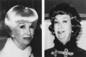Two photographs of candy heiress Helen Brach who disappeared in 1977 and was declared dead in 1984.