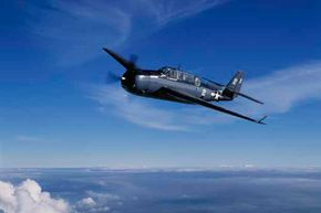 This TBM Avenger was flown by Pres. George H.W.  Bush during World War II.