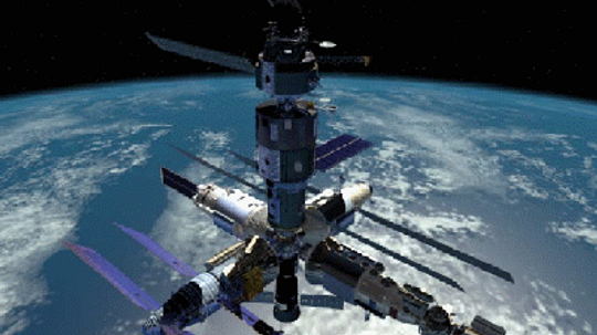 How will the Mir space station be deorbited?