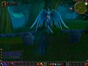 In an MMORPG, you can't go back to a saved game if you die, but the game lets you come back to life.