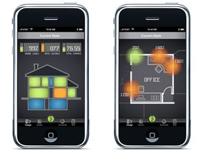 Current State is an iPhone application, currently in the concept stage, that would allow for a variety of remote energy monitoring and management capabilities, including turning home appliances on or off through your iPhone.