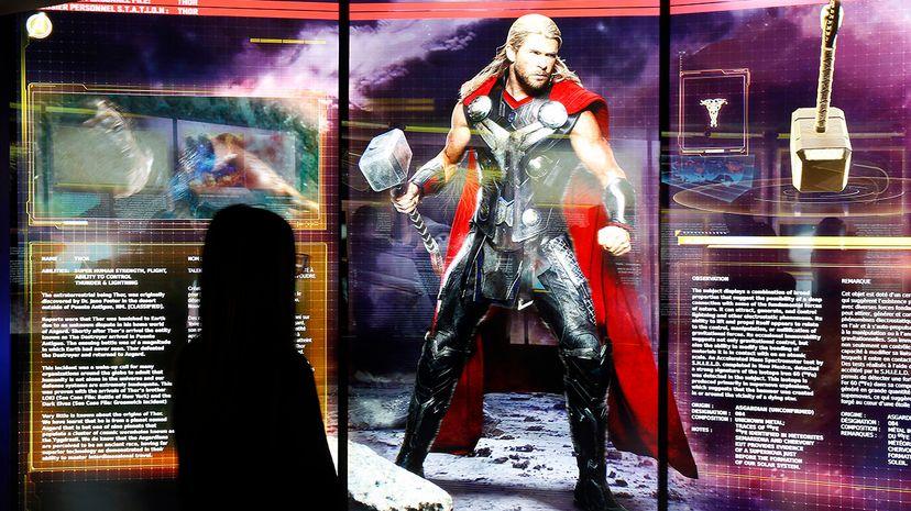 Thor exhibition
