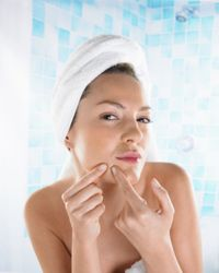 Beautiful Skin Image Gallery Finding a moisture balance for acne-ridden skin can be a real trial. See more pictures of ways to get beautiful skin.