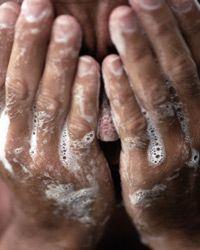 Regular soap can wreak havoc on sensitive skin.