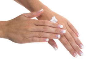 Hands dry out easily, so be sure to keep them moisturized.