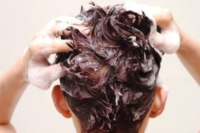 Incorporate moisturizing the scalp into your daily haircare routine. See more pictures of personal hygiene practices.