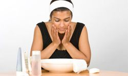 What happens when washing your face leads to an unwanted complexion consequences?