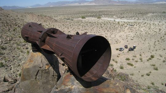 Who's Behind the Mysterious Mojave Desert Megaphone?