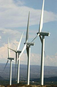 Tidal turbines: Imagine these windmills, outside San Diego, Calif., below the sea.