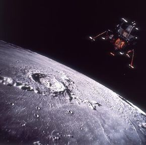 Some people think the United States didn't really land on the moon. How come? See more pictures of the moon.