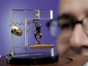 A replica of the first transistor