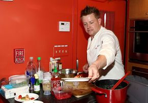 """You may have heard of molecular gastronomy through the cable TV show """"Top Chef."""" Chef Richard Blais, pictured here, one of the contestants on the popular program, has a liking for molecular gastronomy."""