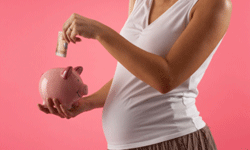 Ideally, you should try to begin living on a budget as soon as you find out you're starting a family.