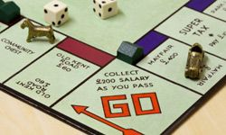 Boardwalk, named for an Atlantic City street, is the highest-priced property in U.S. versions of Monopoly. In the other 110 countries where the game is sold, the tony address goes by different names, like Mayfair in the U.K. and Rue de la Paix in France.