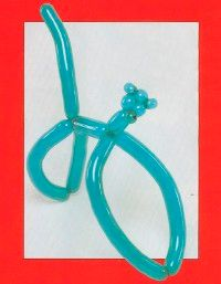 Sculpting a monkey balloon animal is easier than you might think!