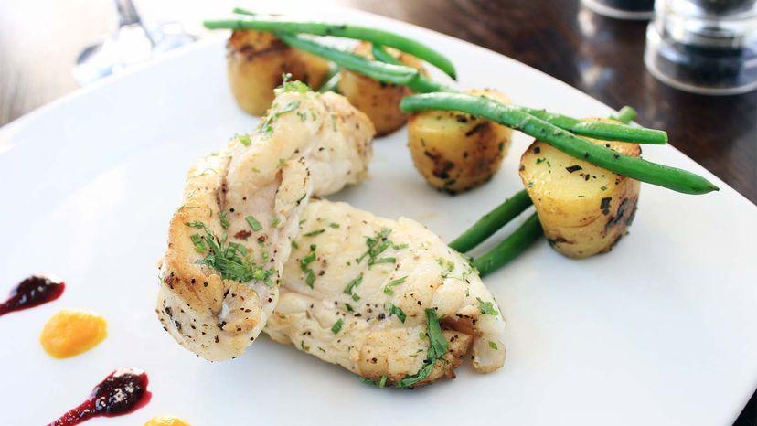monkfish dish