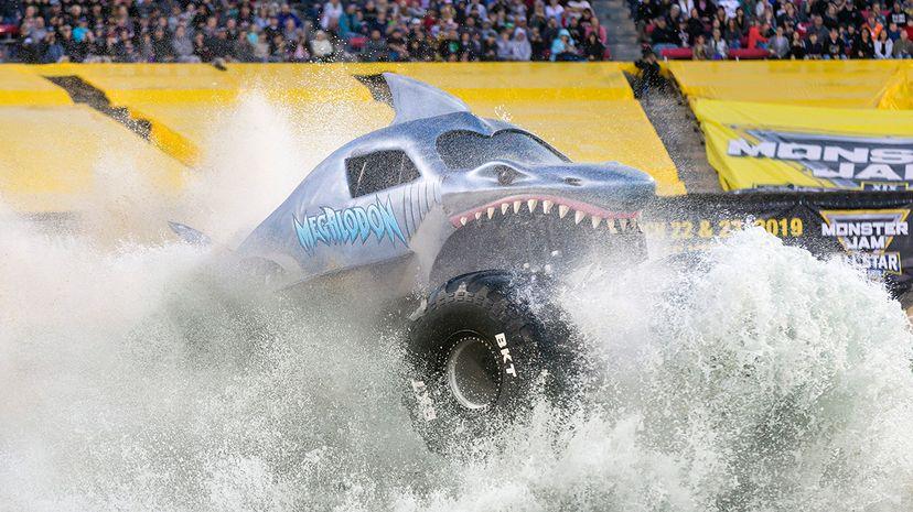 Megaladon Monster Truck Jam