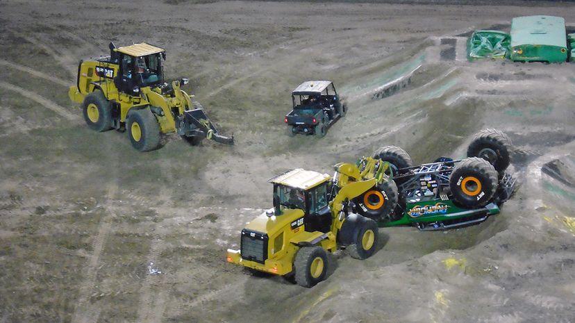 Monster Truck Jam pit crews