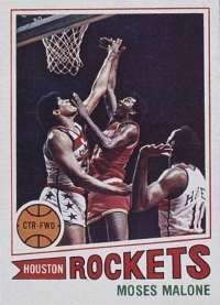 Moses Malone and the 76ers swept the Lakers in the 1983 NBA Finals, with Malone earning series MVP honors. See more pictures of basketball.