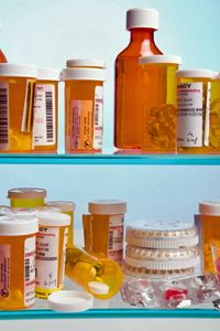 To keep your household safe, store your prescription drugs and other medications in a safe, out-of-the-way place.