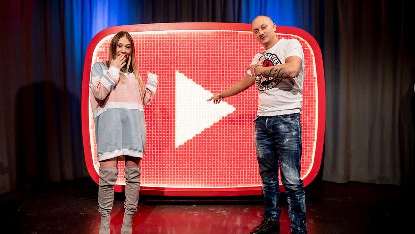 "YouTuber Bianca ""Bibi"" Claßen and rapper Olexesh"