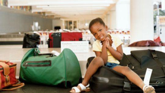 Are morning flights or evening flights better for kids?