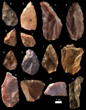 stone tools, stone age tools