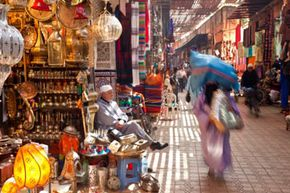 The city of Marrakech, home to Morocco's largest souk, is known around the world.