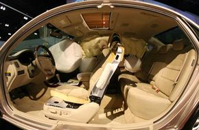 Protection ... or overkill? See more car safety pictures.