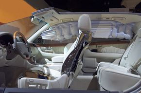 Side airbags were relatively new when this Lexus debuted in 2002.