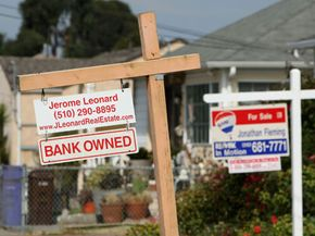 In July 2008, foreclosures (like these homes in Redmond, Calif.) rose 55 percent over July 2007.