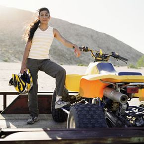 Making sure your entire tow setup is properly insured includes not only your coach vehicle and trailer, but also your ATV or motorcycle.