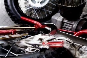 Every rider needs tools specific to their bike in their bag, but wrenches, screwdrivers and pliers are always essential.
