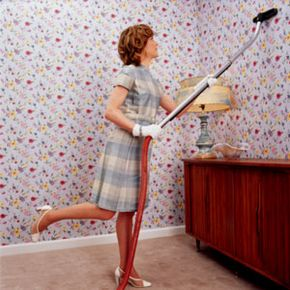Modern appliances couldn't vacuum away women's desires for life beyond housework.