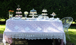 High tea, complete with treats and tiny sandwiches, will make you feel like royalty for a day.